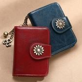 皮夾 大容量卡包牛皮防盜刷信用錢包卡套多卡位女卡夾皮夾超薄小駕駛證 零度 交換禮物