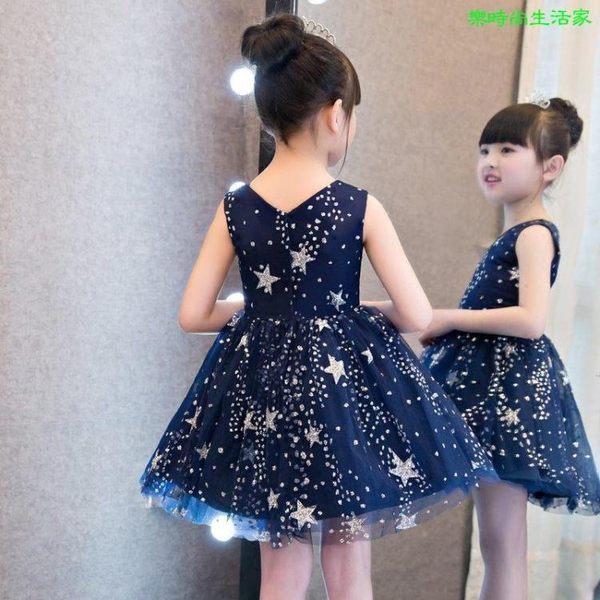 2017兒童禮服 生日舞會 鋼琴演出表演禮服蓬蓬裙LC084