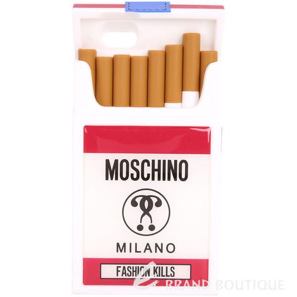 [破盤出清價] MOSCHINO Fashion Kills 特殊造型橡膠 iPhone6 手機殼 1710222-20