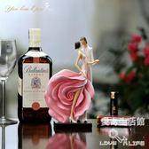 創意結婚禮物情侶擺件新婚禮品閨密朋友新房飾品家居擺飾LY4762『愛尚生活館』