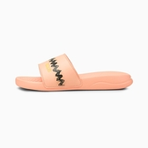 PUMA PEANUTS Popcat 20 Jr 女款史奴比粉色休閒涼拖鞋-NO.37582502
