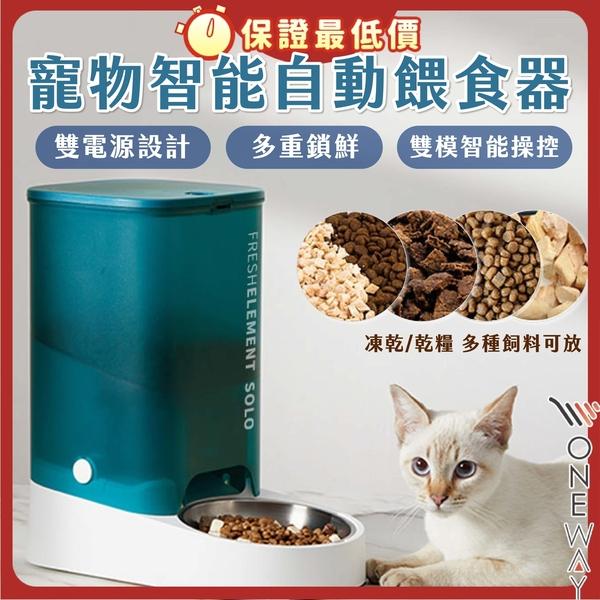 寵物自動智能餵食器 solo 自動餵食 貓碗 不鏽鋼 飼料碗