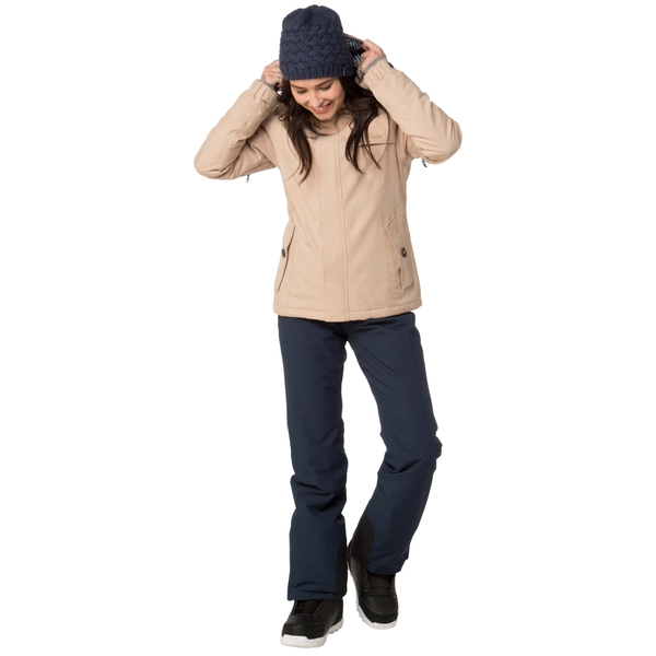 PROTEST 女 機能防水保暖外套 (燕麥色) PRECIOUS SNOWJACKET