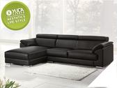 【YUDA】赫本 居家 MIT製造 半牛皮 調整式頭枕坐墊 L型 沙發/沙發椅/坐沙發(面左) J0S 143-3