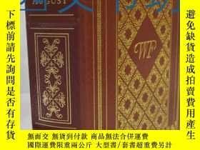 二手書博民逛書店【罕見】1998年出版真皮精裝版 20世紀偉大名著系列叢書Lig