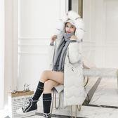工廠批發價不退換防風保暖2018新款羽絨服棉衣女修身中長款繭型大碼孕婦棉服外套(1056A)