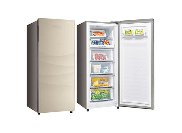 留言加碼折扣享優惠限區運送基本安裝台灣三洋 SANLUX》165公升 直立式冷凍櫃 SCR-165F