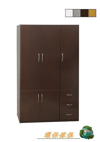 【環保傢俱】塑鋼衣櫃,塑鋼衣櫥.塑鋼吊衣櫃(上+下座)(整台可水洗)206-03