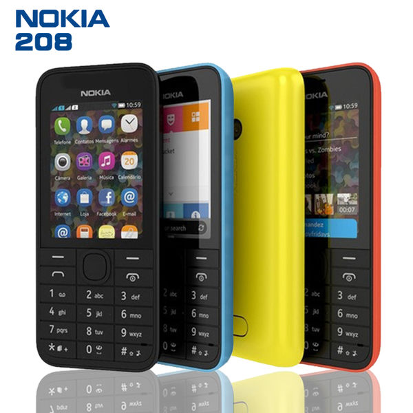 【智慧型手機】Nokia 208