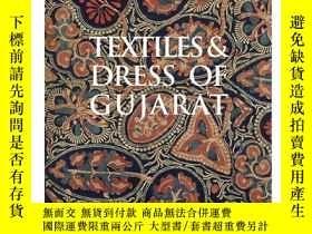 二手書博民逛書店Textiles罕見and Dress of Gujarat古吉拉特邦的紡織與服裝,英文原版Y449990 E