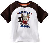 貝比幸福小舖【10099】百款花色*100%純棉歐美短袖T恤~超柔手感-款式B5534