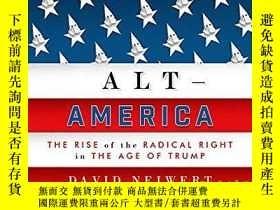 二手書博民逛書店Alt罕見AmericaY364682 David Neiwert Verso 出版2017