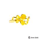 Jove Gold漾金飾 綺麗黃金戒指