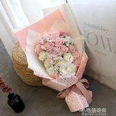 玫瑰花束生日求婚表白禮物送女友閨蜜仿真花肥皂香皂花禮盒創意YYJ『艾莎嚴選YYJ』