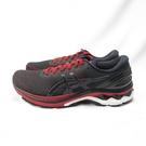 ASICS GEL-KAYANO 27代 男款 慢跑鞋 1011A767600 黑紅【iSport愛運動】