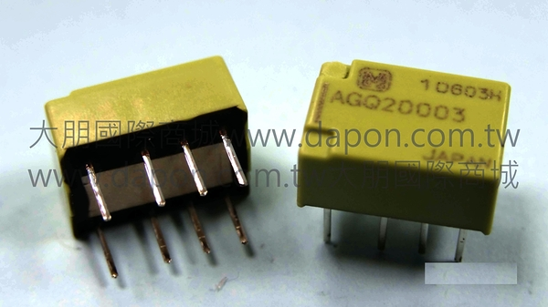 *大朋電子商城*Panasonic AGQ20003 繼電器Relay(5入)