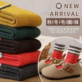 兒童襪子 兒童襪子女童純棉秋冬季加厚加絨保暖加長中筒毛圈襪男寶寶毛巾襪