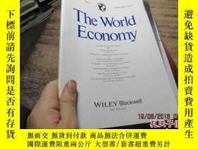 二手書博民逛書店the罕見world economy vol.37 no.1 8