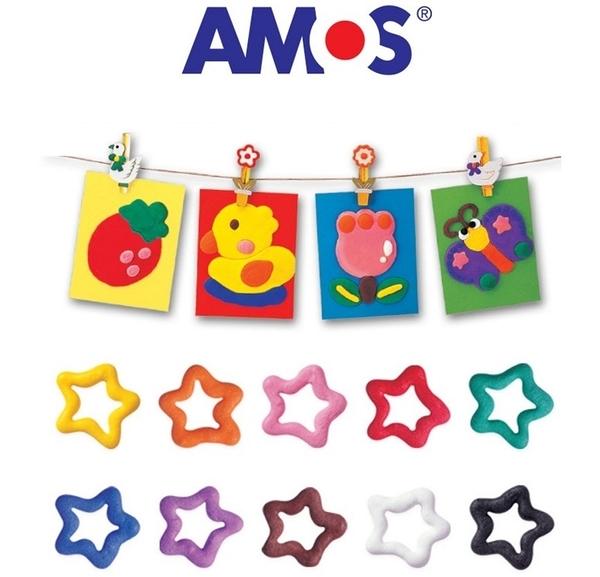 AMOS 爆米花筆 10色泡泡筆 泡芙筆 Puffy Paint