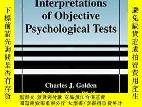 二手書博民逛書店Neuropsychological罕見Interpretations Of Objective Psycholo