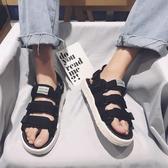 夏季涼鞋男士2020新款涼拖鞋韓版潮流個性情侶百搭運動休閑沙灘鞋 歐韓時代