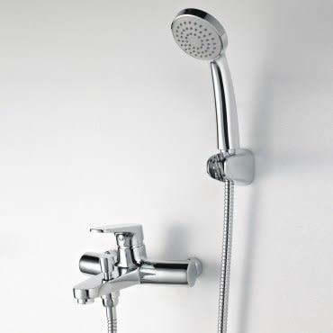 德國BRAVAT 貝朗伊萊沐浴用龍頭附蓮蓬頭 耐用節水 優質全銅 進口陶瓷閥芯