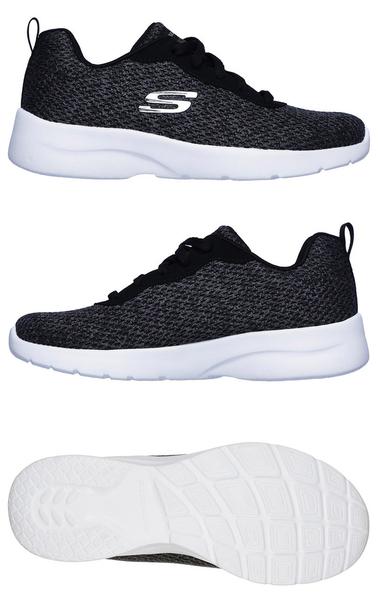 IMPACT Skechers DYNAMIGHT 2.0 QUICK 健走鞋 慢跑鞋 輕量 舒適 12966BKW