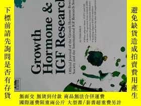 二手書博民逛書店Growth罕見Hormone & IGF Research 2017年12月生長激素與胰島素樣生長因子研究Y