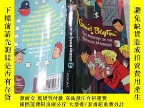 二手書博民逛書店the罕見mystery of the strange messages奇怪信息的奧秘Y200392