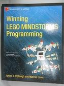 【書寶二手書T3/電腦_E5V】Winning Lego Mindstorms Programming_Trobaugh
