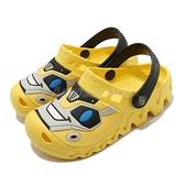 Skechers 涼拖鞋 Zaggle-Heat Swell 黃 黑 童鞋 中童鞋 大黃蜂 水鞋 涼鞋 【ACS】 400074LYLBK