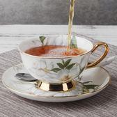 金豬迎新 英式骨瓷咖啡杯歐式咖啡杯碟套裝陶瓷咖啡杯子家用下午茶具