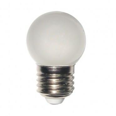觀自在LED磨砂燈泡E27/0.5W/紅光