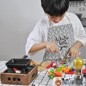 兒童家家酒玩具迷你小廚房真煮食餐具微型廚具【淘夢屋】