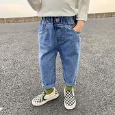 男童牛仔褲 秋季薄款兒童秋裝褲子洋氣小童外穿韓版寶寶百搭長褲潮【快速出貨】