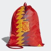 ADIDAS SPAIN GYM BAG 後背包 束口袋 休閒 世足賽 西班牙 紅 黃 藍【運動世界】CF4963