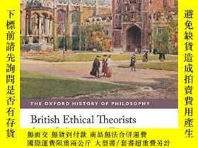 二手書博民逛書店British罕見Ethical Theorists From Sidgwick To EwingY36468