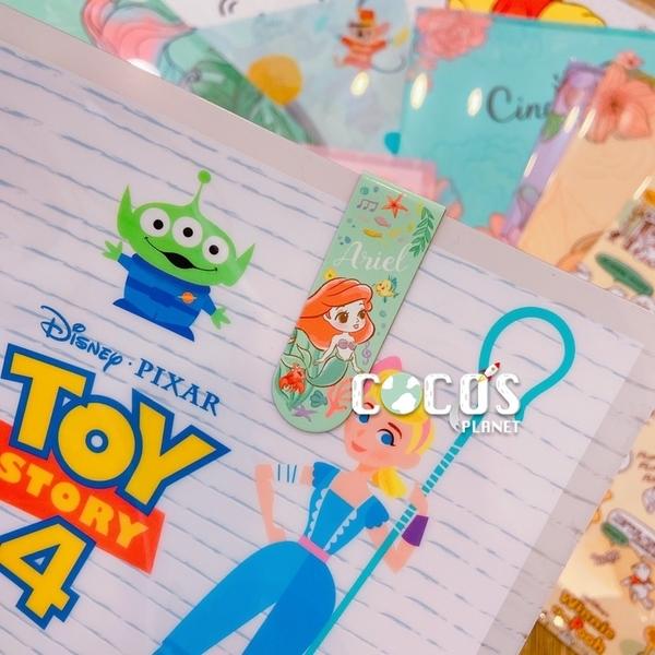 正版迪士尼 Q版公主系列 仙杜瑞拉 造型磁鐵一入書夾 書籤夾 書籤 磁鐵書夾 COCOS KS180
