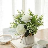 北歐仿真植物花藝小盆栽ins室內家居擺件客廳辦公桌裝飾假花創意 母親節禮物