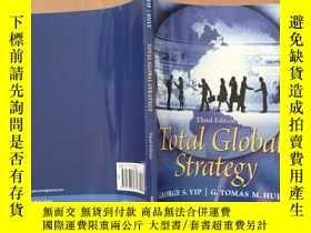 二手書博民逛書店total罕見global strategy 3th(英文原版)