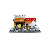 【Tico 微型積木】T-7032 台灣 霞海城隍廟