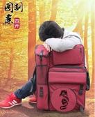畫板袋4K畫包素描畫板袋手提雙肩多功能牛津布寫生繪畫美術背包畫袋美術袋多功能 color shop YYP