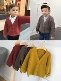 店長推薦 辰辰媽嬰童裝寶寶長袖針織開衫1-3歲兒童秋冬裝男童加厚毛衣外套