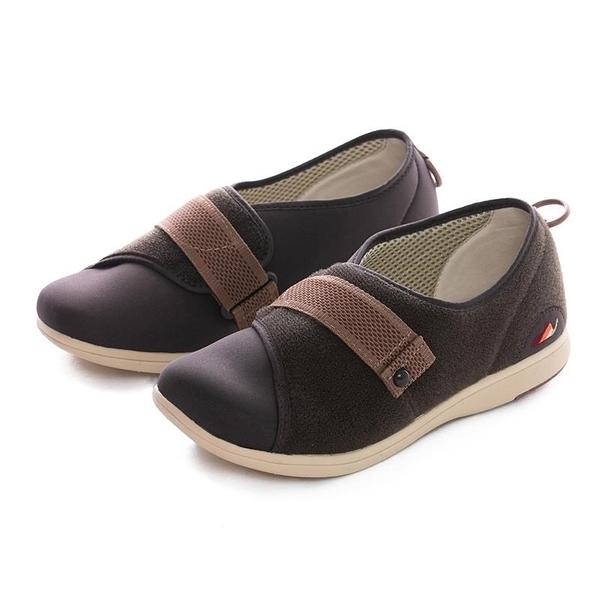 【南紡購物中心】Pastel介護鞋 咖啡色