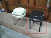 【石川傢居】YU 416 11 B 塑鋼黑面中洞椅不含  台北到高雄 車趟免運