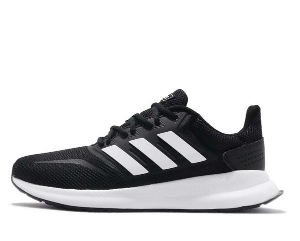 ADIDAS系列-女款 RUNFALCON 黑色 慢跑鞋-NO.F36218