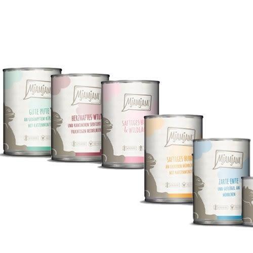 *KING*【單罐】德國《魔力喵MjAMjAM》鮮肉主食罐-大罐400g 多種口味 全貓齡適用主食罐
