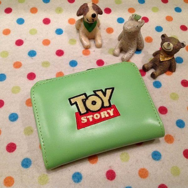 【發現。好貨】迪士尼三眼怪橫式鐵扣夾立體造型短夾 卡通三眼怪皮夾造錢包 零錢包 證件包
