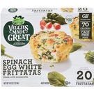 [COSCO代購] C1284156 Garden Lites 冷凍菠菜起司蛋白塔 56.5 公克 X 20 入