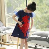 女童連身裙改良旗袍裙